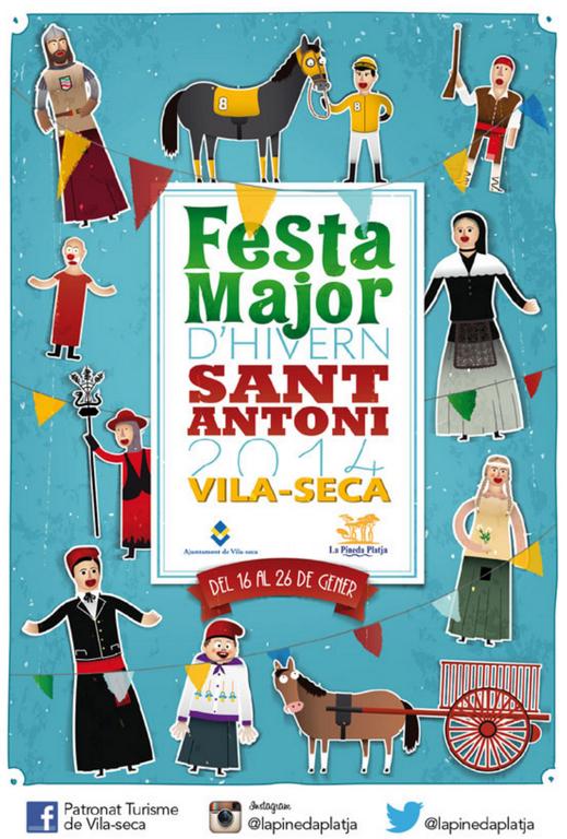Aquest Divendres Festa Major a Vilaseca, consulteu el programa clicant a la foto!